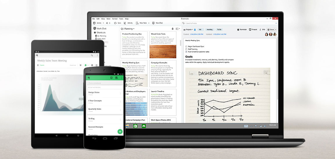 Evernote Workspace